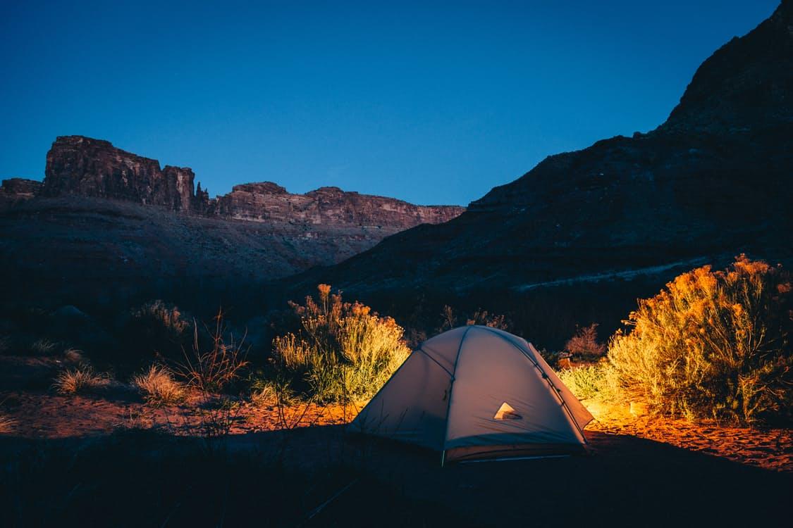 我が家の最初のテントはアメニティドームM