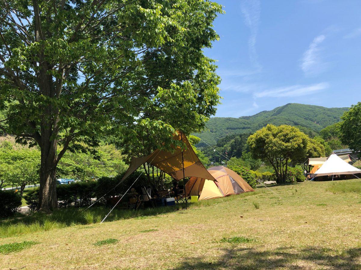 知明湖キャンプ場 2回目