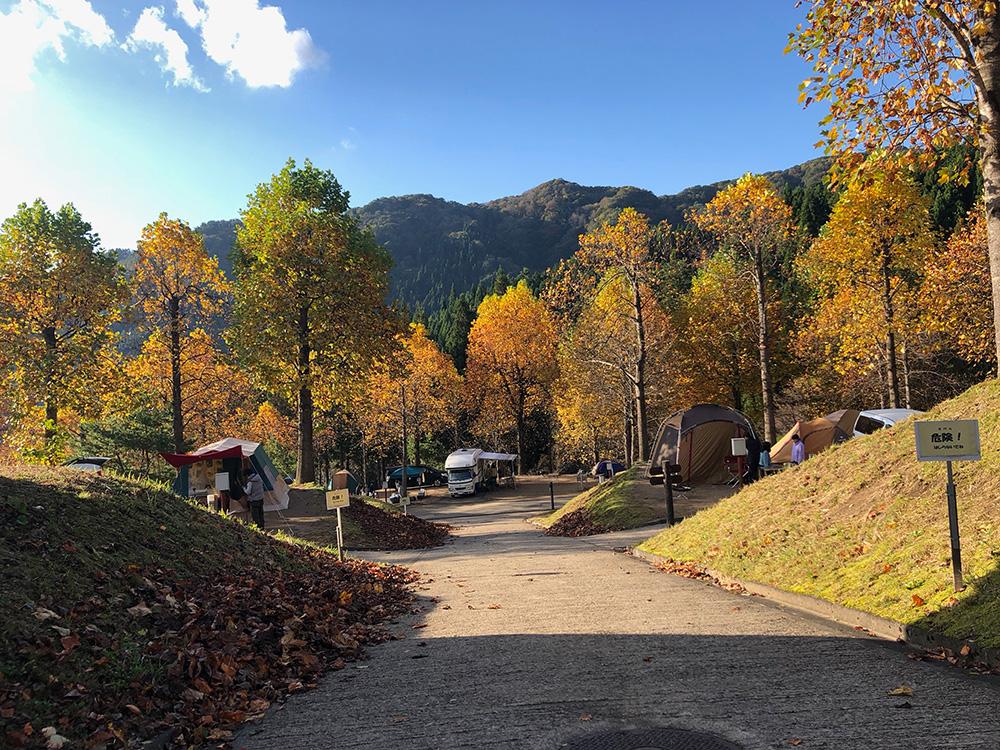湯ノ原温泉オートキャンプ場