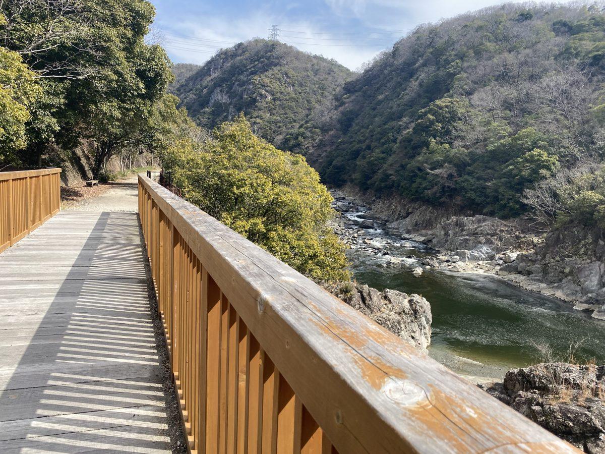 武田尾廃線跡ハイキングコース